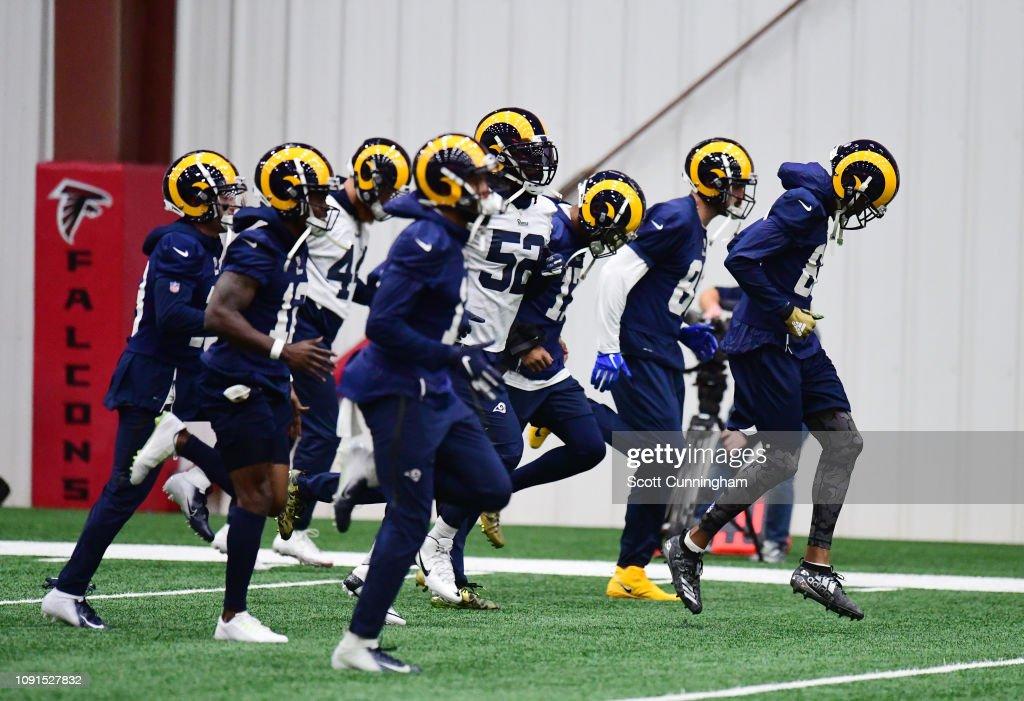 Super Bowl LIII - Los Angeles Rams Practice : News Photo