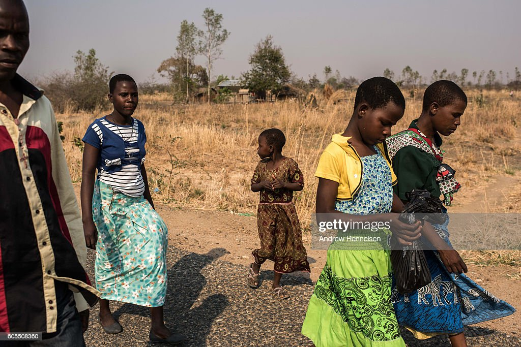 Food Shortages In Malawi As El Nino Causes Damaging Drought : News Photo