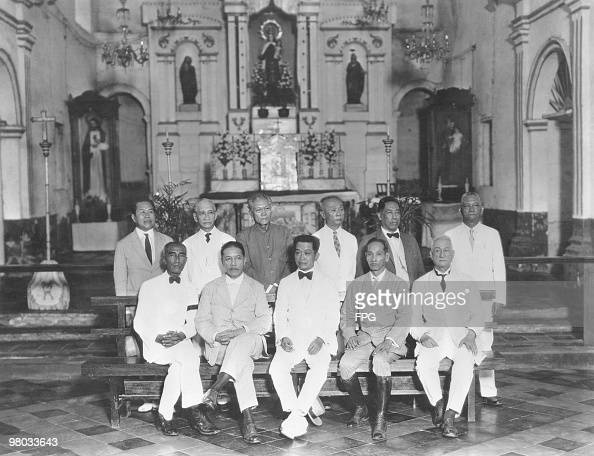 Members of the Malolos Congress, the constituent assembly ...