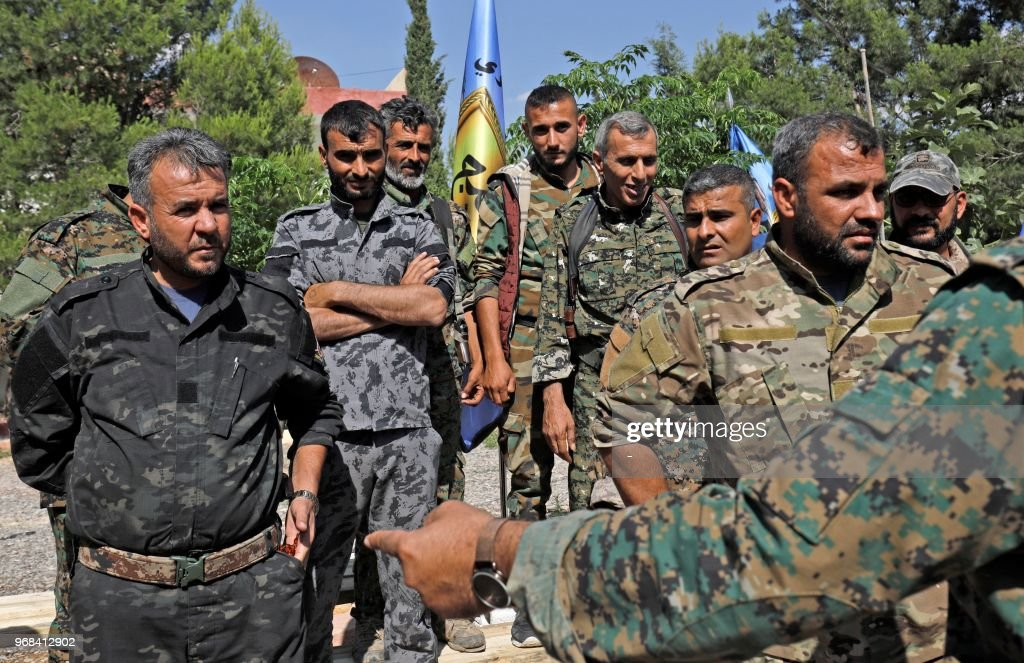 SYRIA-KURDS-CONFLICT : News Photo