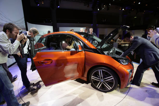 Bmw Electric Car Launch Pictures Getty Images