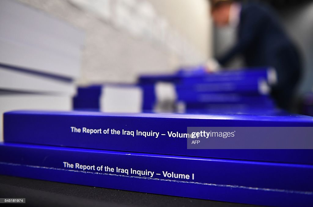 BRITAIN-IRAQ-WAR-POLITICS : News Photo