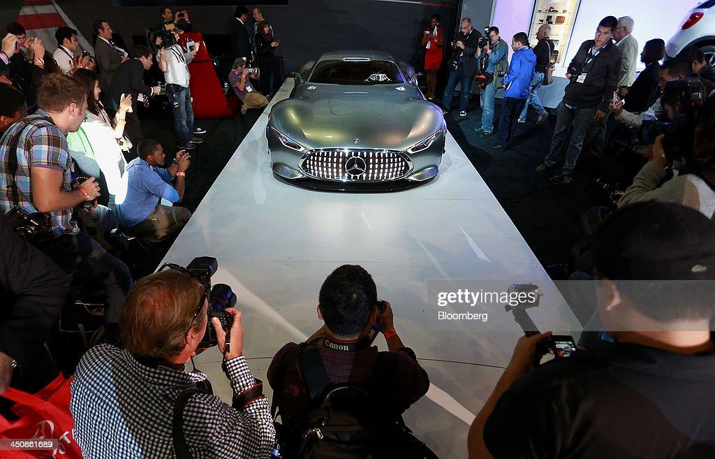 Inside The 2013 LA Auto Show : News Photo