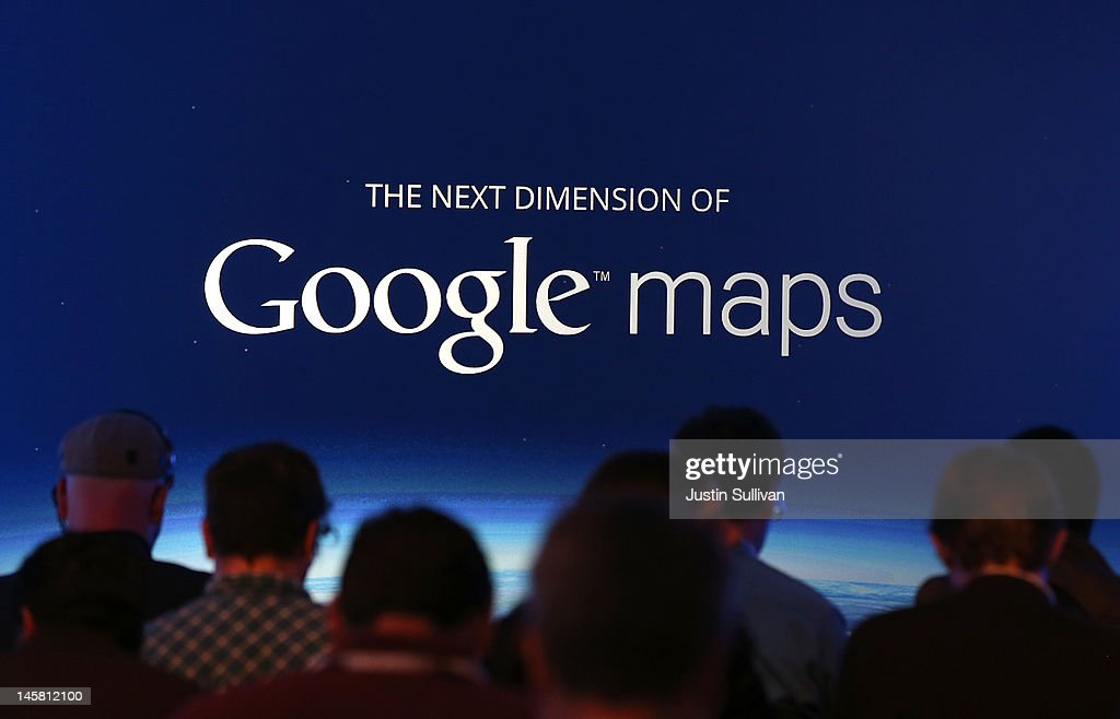 Google Holds News Conference : News Photo
