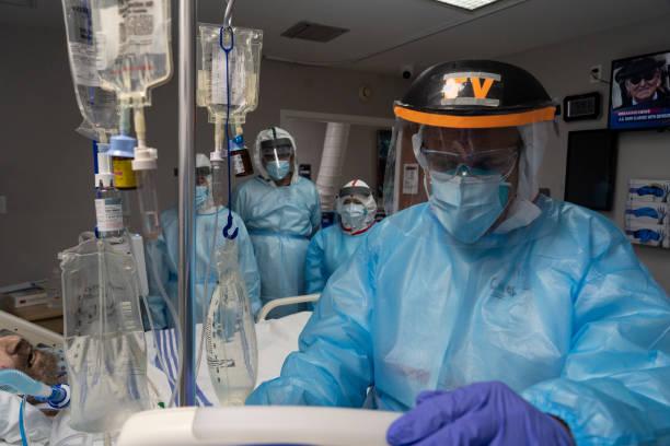 TX: Houston Hospital Struggles With Coronavirus Surge In Texas