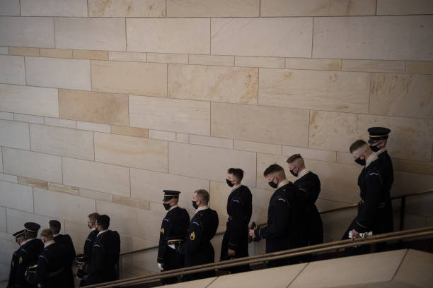 DC: Dress Rehearsal At U.S. Capitol Ahead Of Presidential Inaugural Ceremony