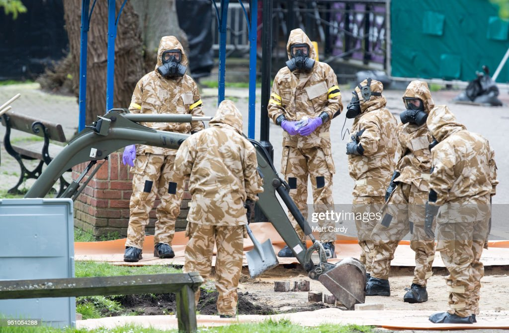 Decontamination Continues At The Scene Of The Russian Spy Poisoning