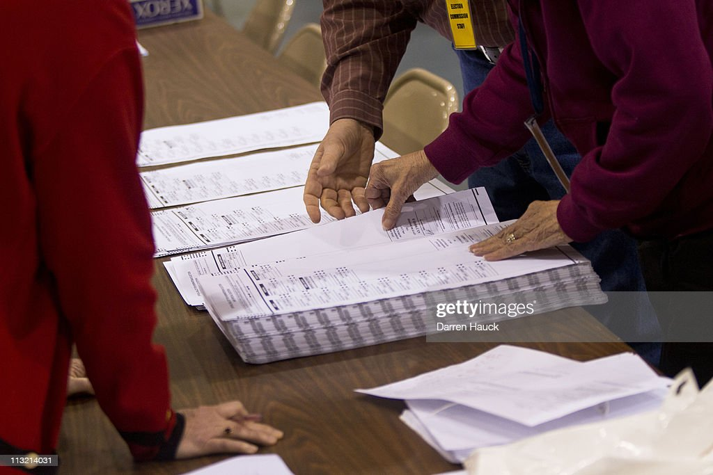 Wisconsin Holds Recount Of Contested Supreme Court Election : News Photo