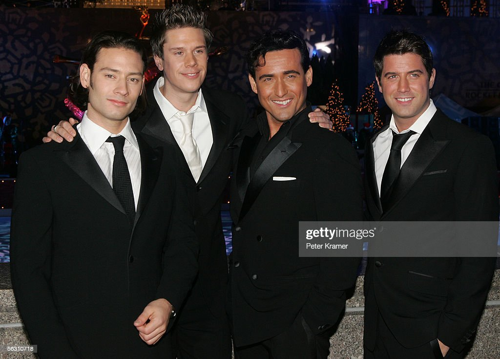 Members of the music group il divo the lighting of the - Divo music group ...