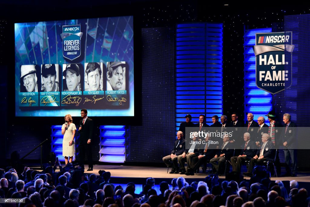 NASCAR Hall of Fame Induction Ceremony : News Photo