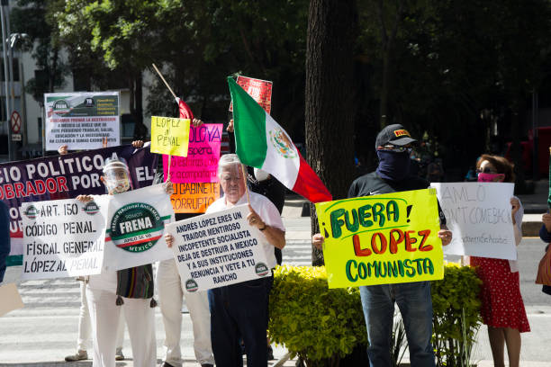 MEX: Protest In Mexico City