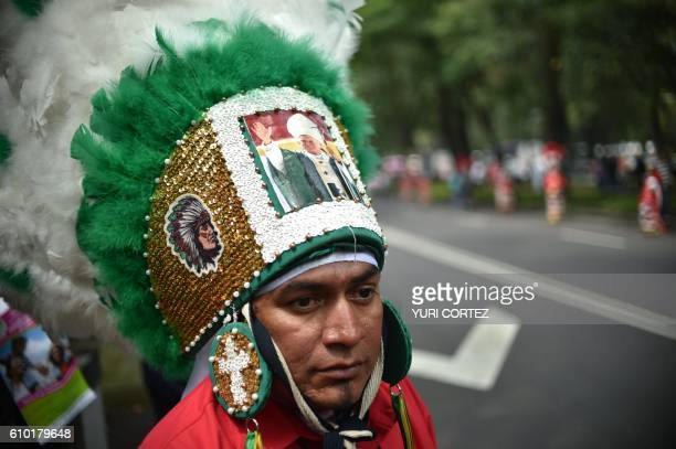 TOPSHOT Members of the National Front for the Family marched in Mexico City to protest President Enrique Pena Nieto's initiative to legalize gay...