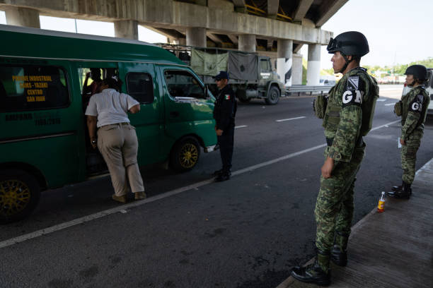 MEX: Newly-Formed Mexican National Guard  Patrols Mexican-Guatemalan Border