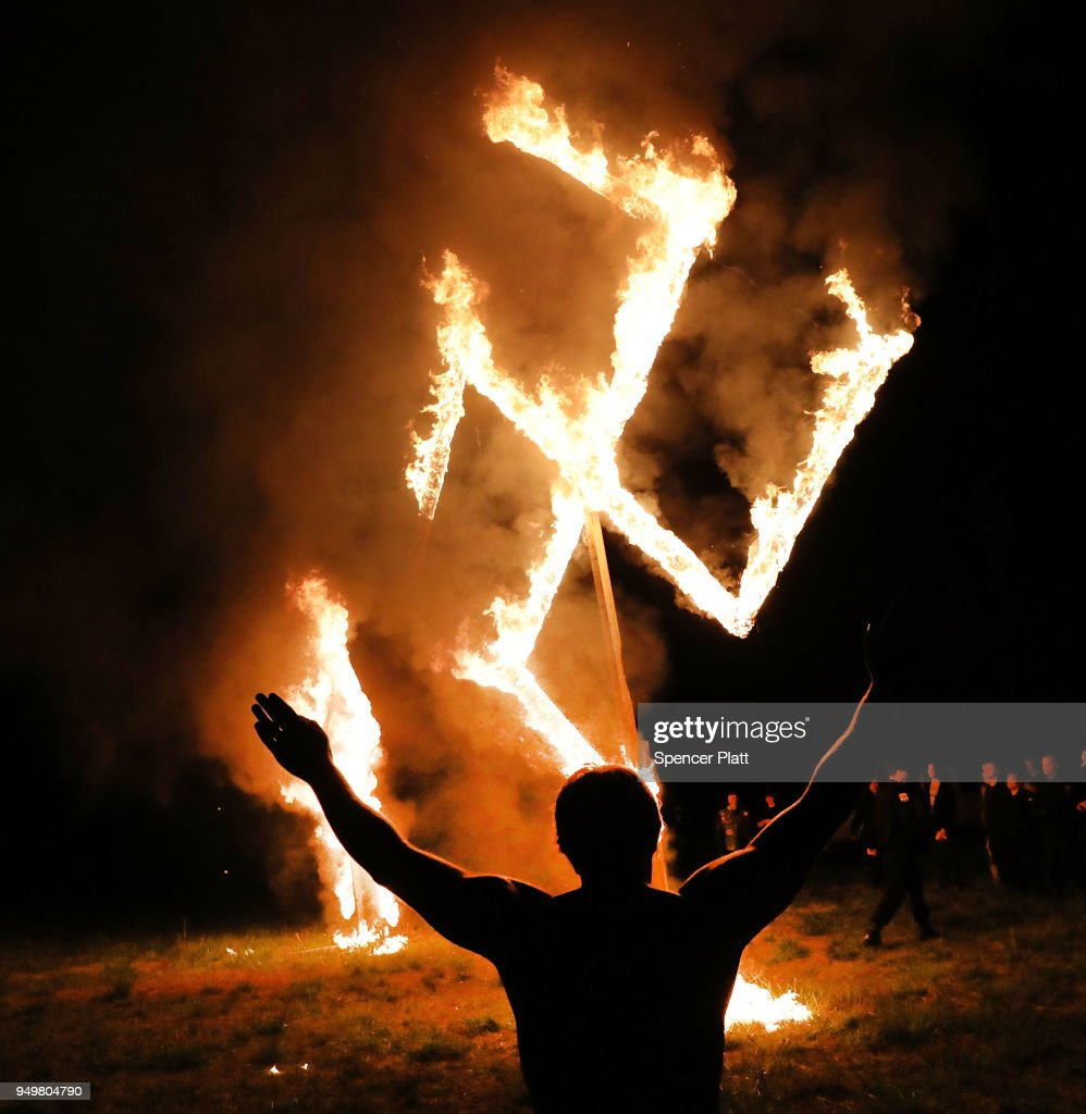 Eyewitness To Hate: Swastikas Burn In Georgia