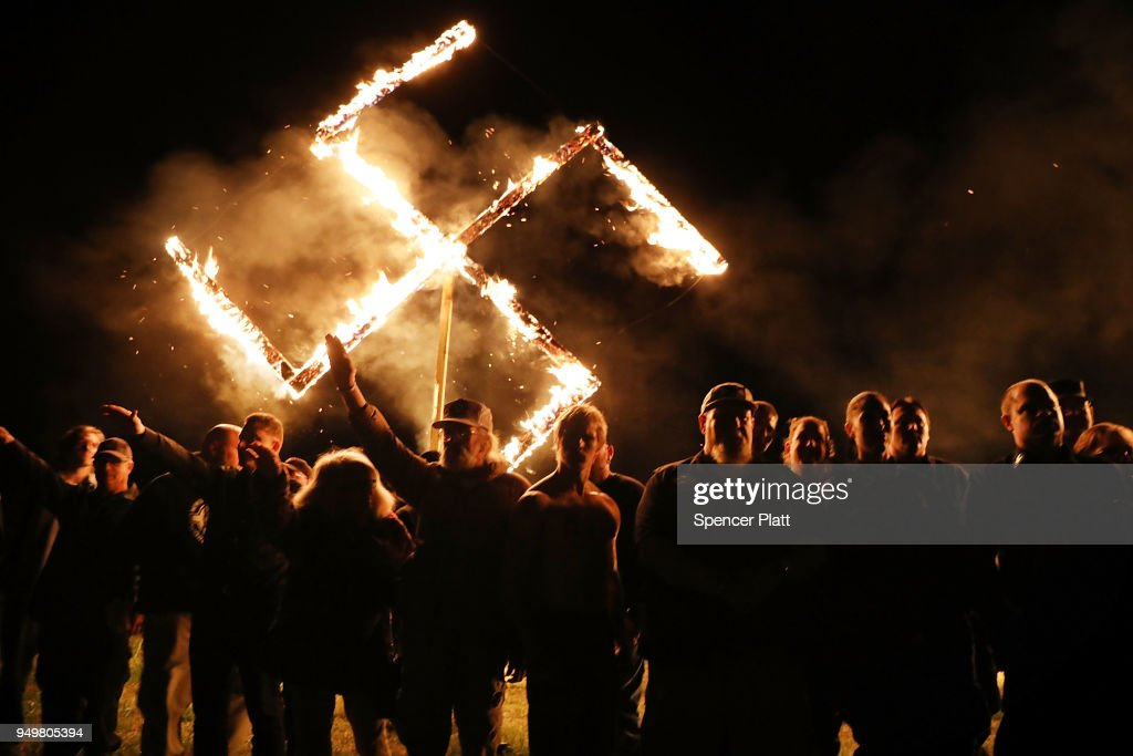 White Nationalists Hold Rally In Georgia : News Photo