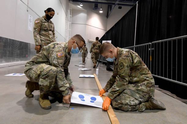 NV: Las Vegas Opens New Coronavirus Testing Site In Cashman Center