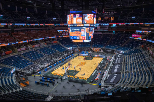 FL: New Orleans Pelicans v Orlando Magic