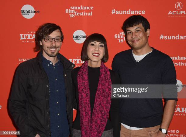 Members of The Octopus Project attend the premiere of 'Damsel' during the 2018 Sundance Film Festival at Eccles Theatre on January 23 2018 in Park...