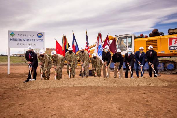 CO: Intrepid Spirit Center Groundbreaking At Fort Carson