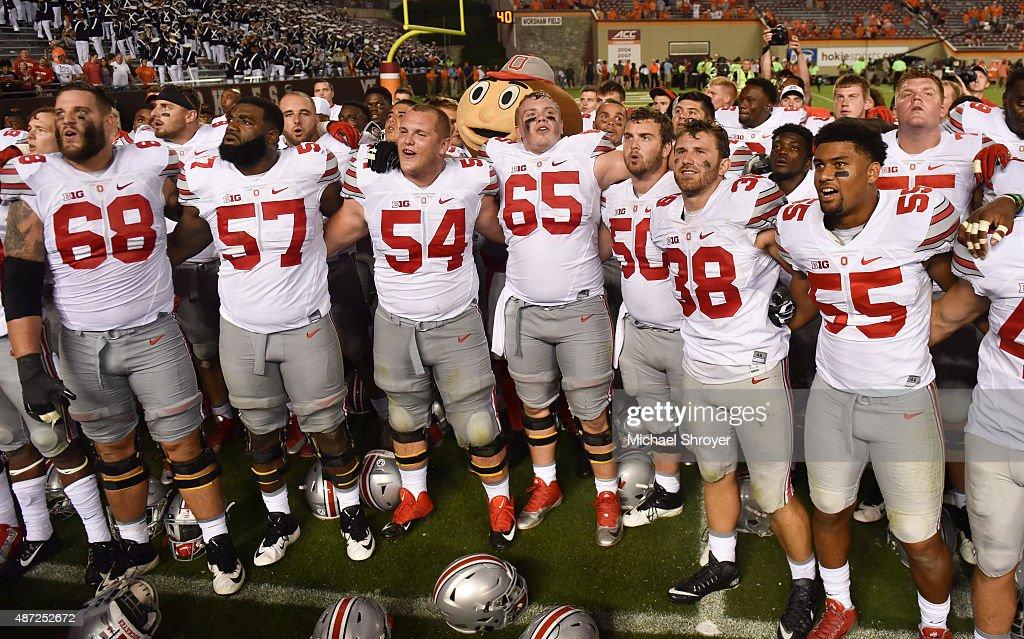 Ohio State v Virginia Tech : News Photo