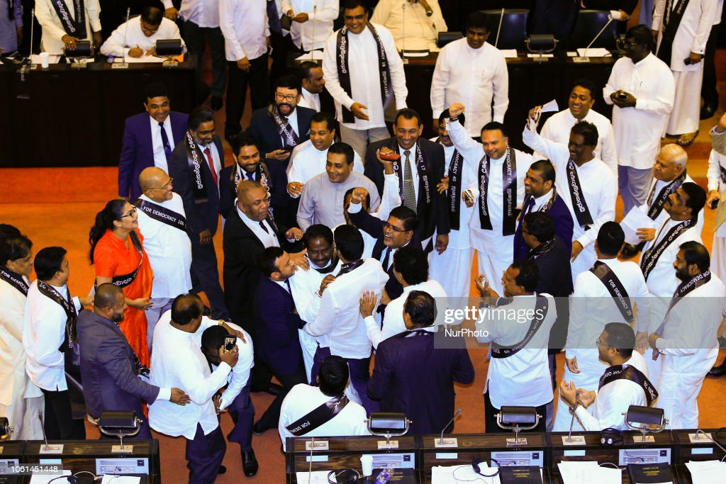 Sri Lanka Special Parliamentary Session : News Photo