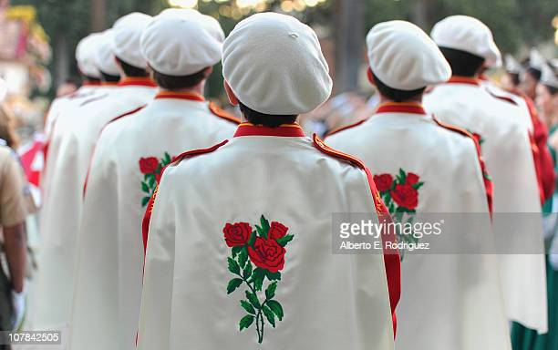 Members of the Pasadena City College band perform at the 122nd Annual Tournament of Roses Parade presented by Honda on January 1 2011 in Pasadena...