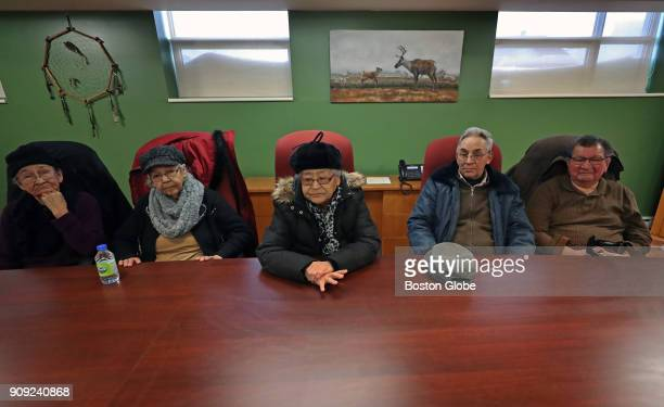 Members of the Pessamit community an indigenous group of the Innu nation whose ancestral lands are now the source of nearly onethird of HydroQuébec's...