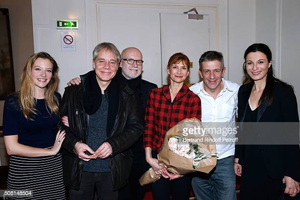 Members of the Piece 'Maris et Femmes' Actors of the piece Astrid Roos Jose Paul Theatrical adaptation Christian Simeon Actors of the piece Florence...