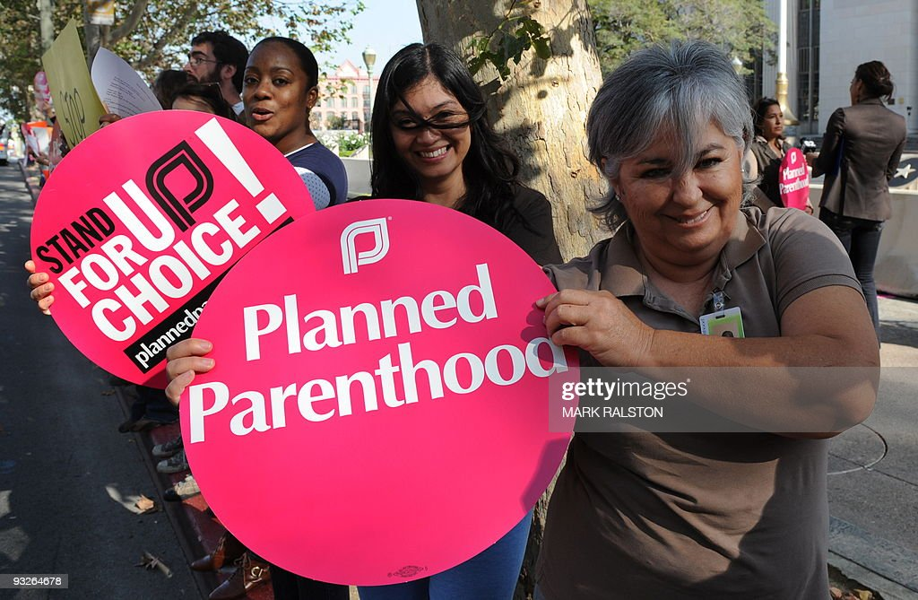 """Members of the """"Planned Parenthood' wome : News Photo"""