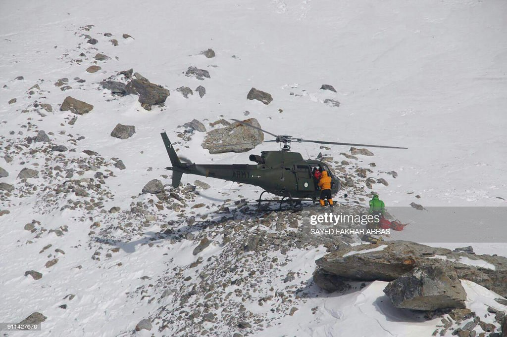 PAKISTAN-MOUNTAINEERING : News Photo