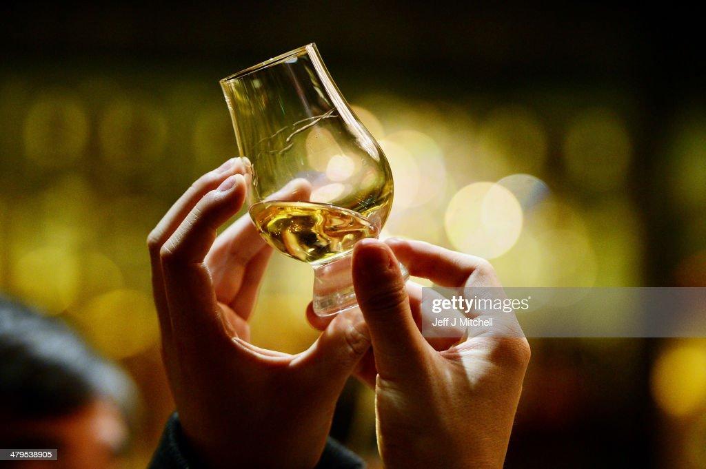 George Osborne Freezes Duty On Scotch Whisky In The Budget : News Photo