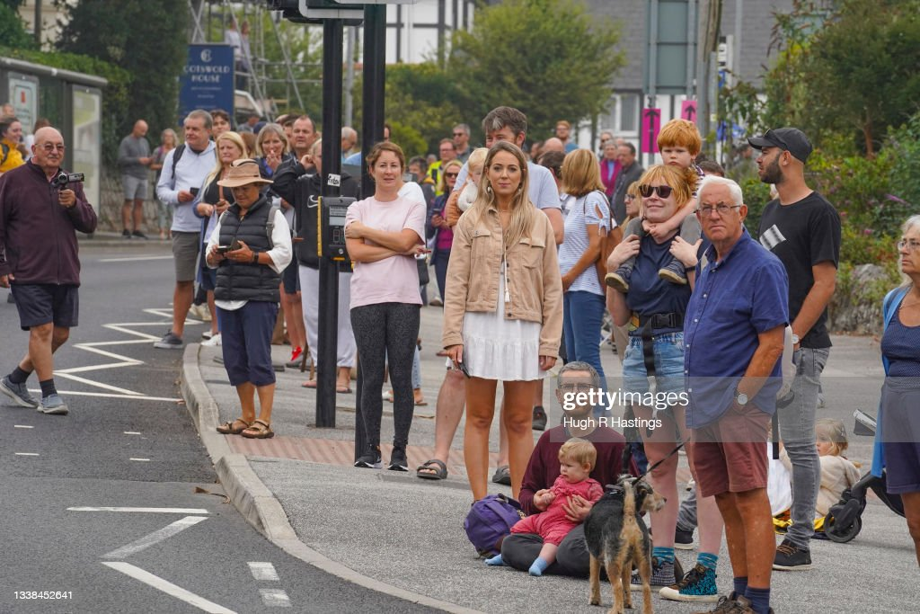 Tour Of Britain Passes Through Falmouth : News Photo