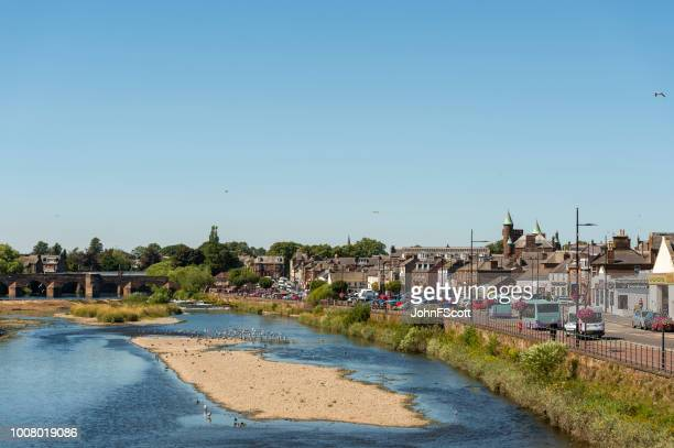 members of the public in dumfries - dumfries stock pictures, royalty-free photos & images