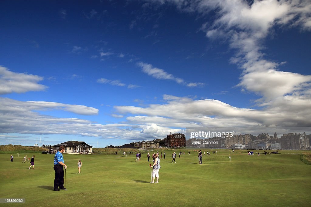 The Himalayas Putting Course St Andrews : News Photo