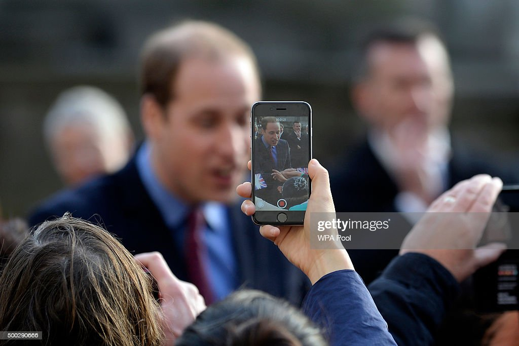 The Duke Of Cambridge Visits Birmingham : News Photo