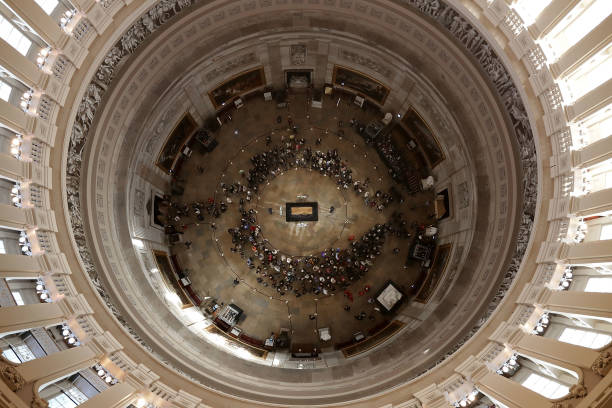 Rev. Billy Graham Lies In Honor In U.S. Capitol Rotunda