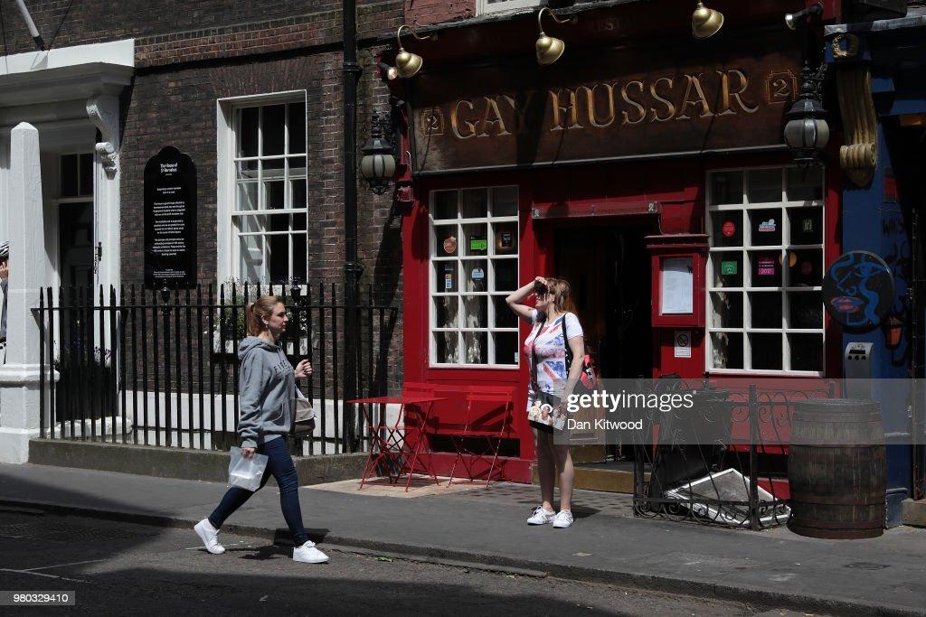 hussar restaurant soho Gay