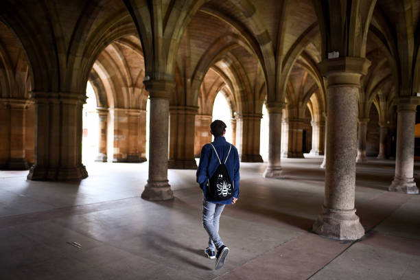 GBR: University Of Glasgow Residence Halls Experience Covid-19 Outbreak