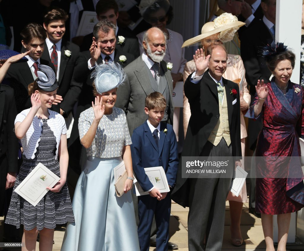 BRITAIN-US-ROYALS-WEDDING-PROCESSION : News Photo