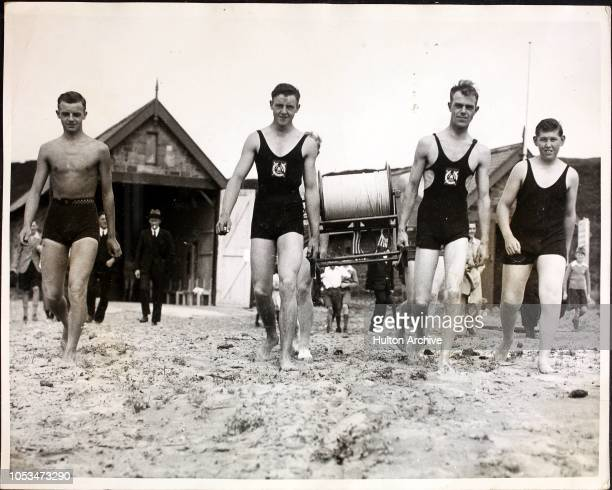 Royal LifeGuards Corps Formed At Alnmouth To Help Make Beach Safe For Bathers A branch of the Royal LifeGuards of the Royal Life Saving Socy was...