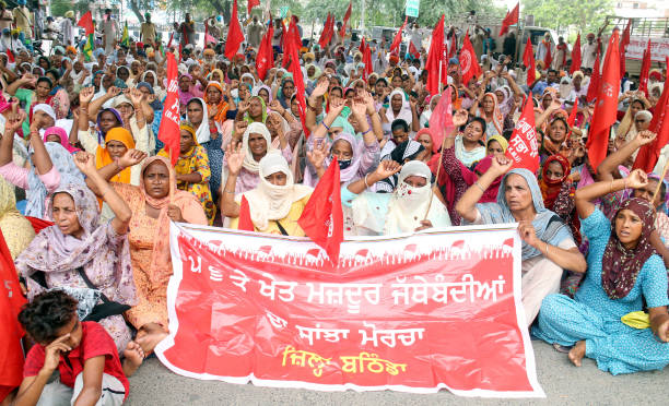IND: Rural And Khet Mazdoor Union Punjab Protest Against Punjab Government