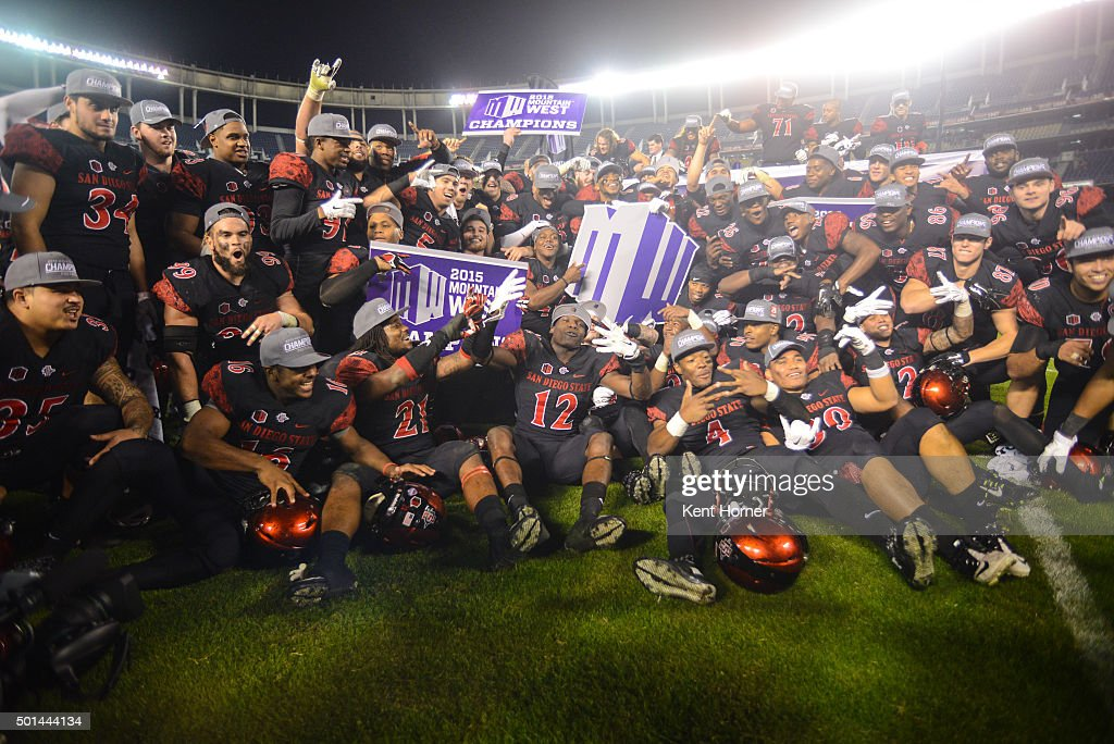 Mountain West Championship - Air Force v San Diego State : News Photo