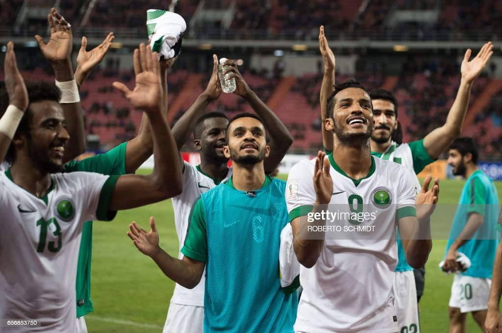 FBL-ASIA-WC-2018-THA-KSA : News Photo