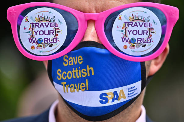 GBR: Scottish Travel Industry Protests At Holyrood Over Continued Restrictions