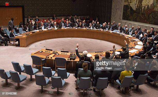 Members of the Security Council approve the sanctions resolution The United Nations Security Council unanimously approved a Resolution on new...