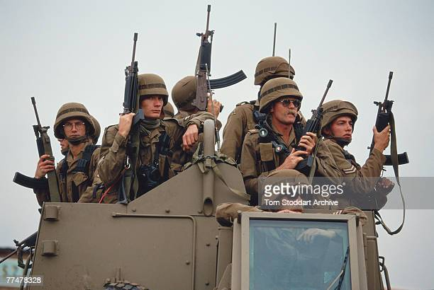Members of the South African Defence Force April 1994 In 1994 the SADF was integrated with a number of other organisations to become the South...