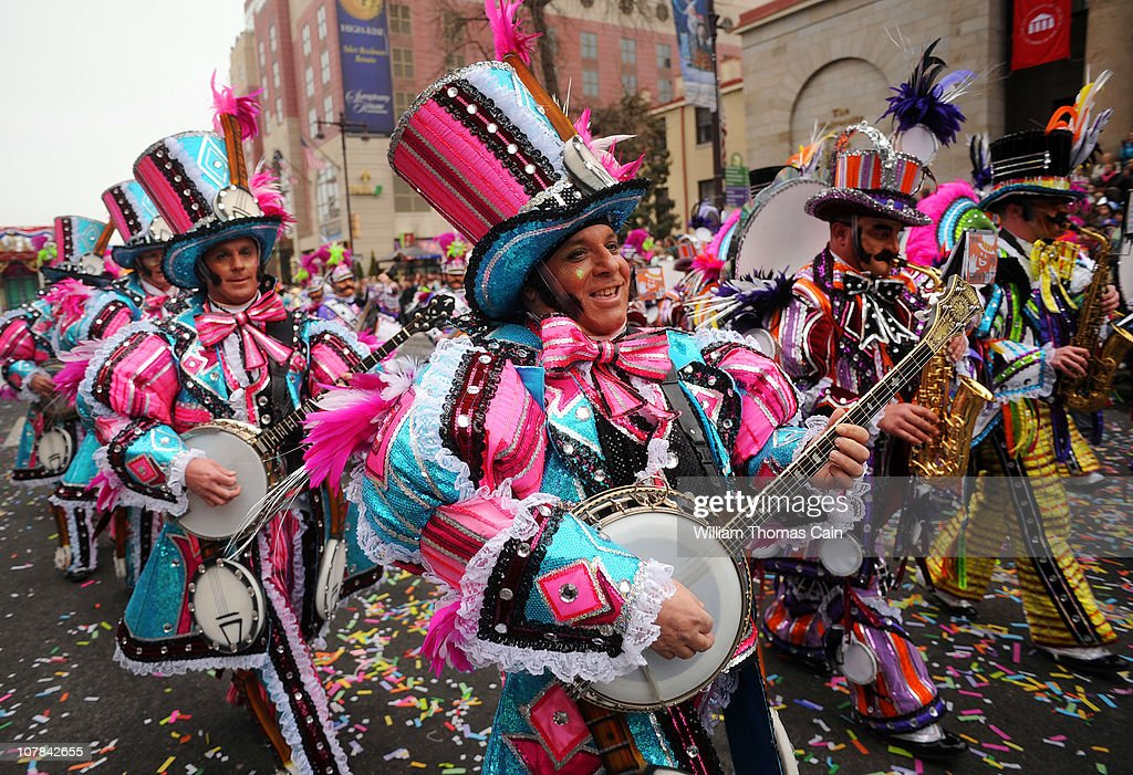 Philadelphia Celebrates The New Year With Annual Mummers Day Parade : News Photo