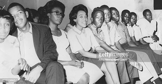 Members of the Student Nonviolent Coordinating Committee 1964