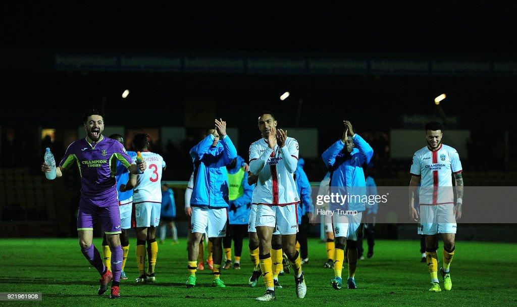 Torquay United v Sutton United - Vanarama National League : News Photo