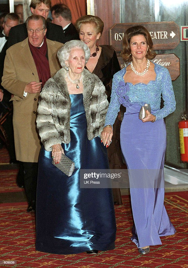 Norway Royals at Party : News Photo